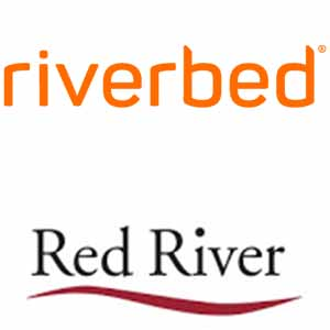 Red River and Riverbed's logo