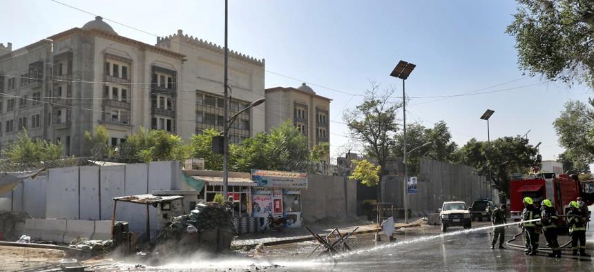The U.S. embassy in Kabul, Afghanistan, in September 2019.