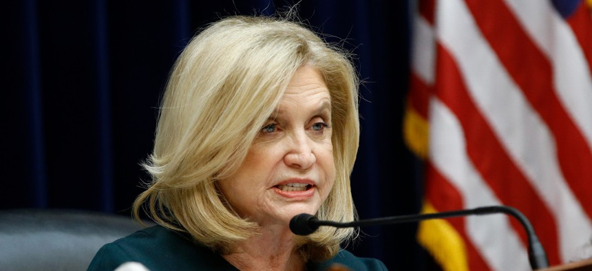 """""""The PLUM Act would make our government more transparent for the American people,"""" said Rep. Carolyn Maloney."""