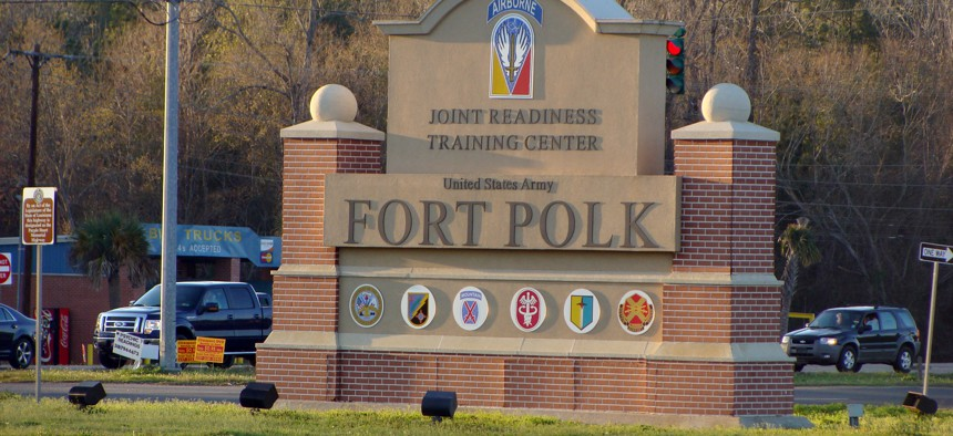 The Army named Fort Polk in Louisiana to honor Gen. Leonidas Polk, a slaveowner who fought the United States as a member of the Confederate Army.
