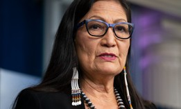 """Interior Secretary Deb Haaland said her """"priority is to revitalize and rebuild the [Bureau of Land Management] so that it can meet the pressing challenges of our time, and to look out for our employees' well-being."""""""