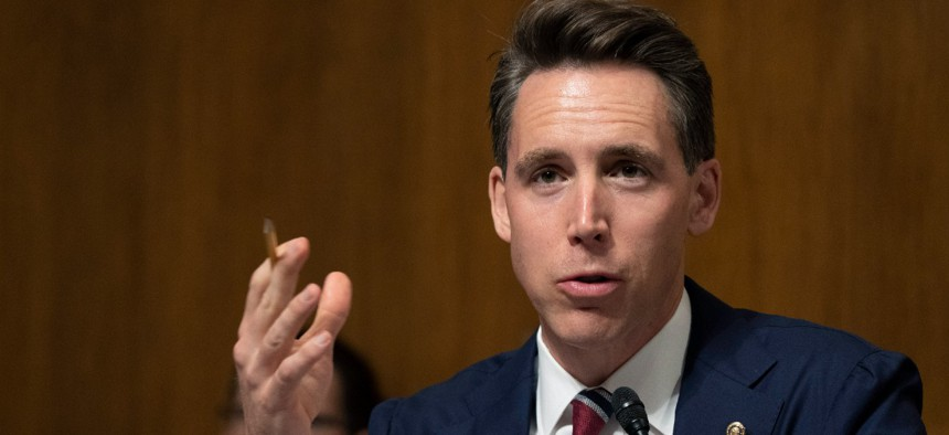 Sen. Josh Hawley, R--Mo., is one of the sponsors of the bill.