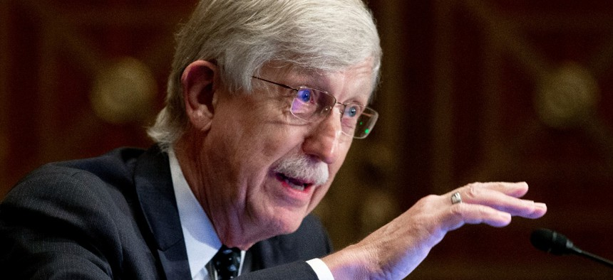 Dr. Francis Collins, director of the National Institutes of Health, announced he is stepping down at the end of the year.