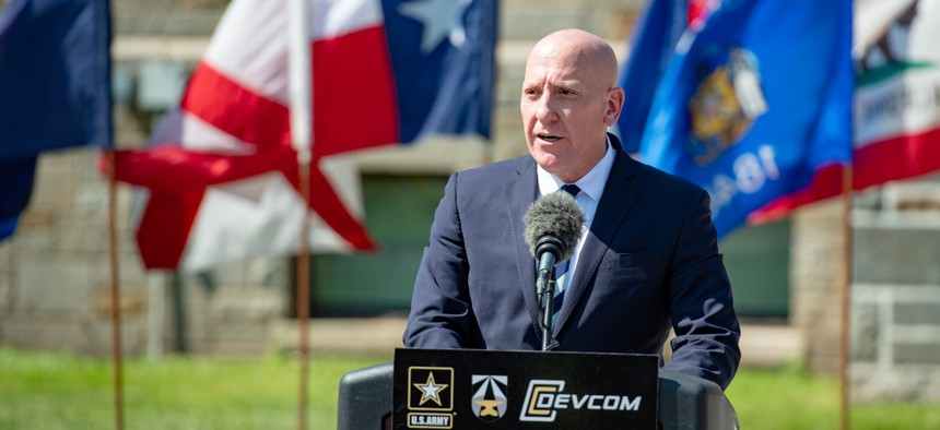 """""""We're doing everything we can to attract the talent that we need and retain the talent that we have,"""" says John Willison, deputy to the commanding general of DEVCOM."""