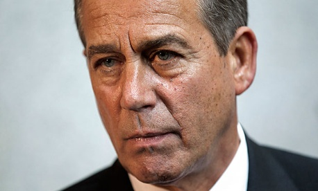 Rep. John Boehner, R-Ohio, and other Republicans conceded Friday that they would not insist the extension part of the deal be paid for.