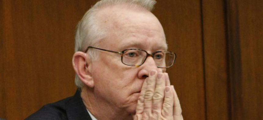 Rep. Buck McKeon, R-Calif., warns big decreases could hurt readiness.
