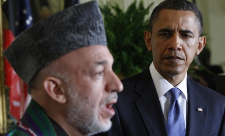 "Hamid Karzai condemned the incidents as ""intentional murders."""