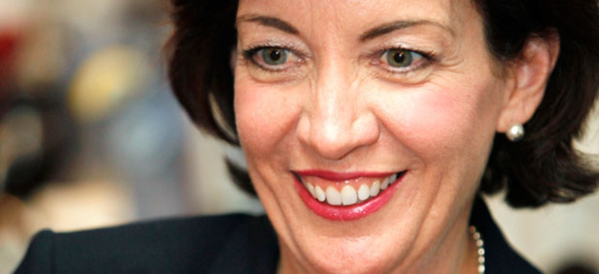 Rep. Kathy Hochul, D-N.Y., is considering stricter limits.