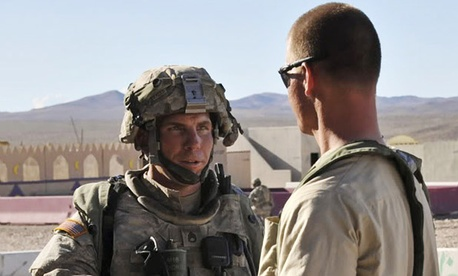 Staff Sgt. Robert Bales is seen in a 2011 interview in Afghanistan.