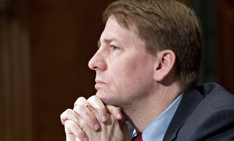 President Obama installed Richard Cordray as director of the agency in January.