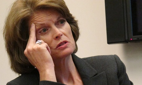Sen. Lisa Murkowski, R-Alaska, asks how many civilians would be affected by proposed consolidation.