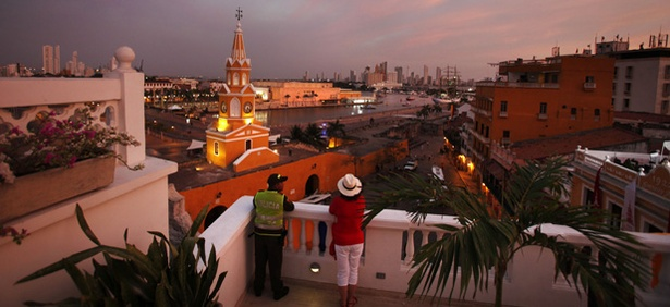 The Summit of the Americas is being held in Cartagena, Colombia.