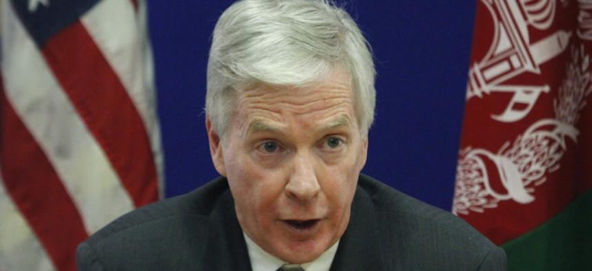 U.S. Ambassador to Afghanistan Ryan Crocker