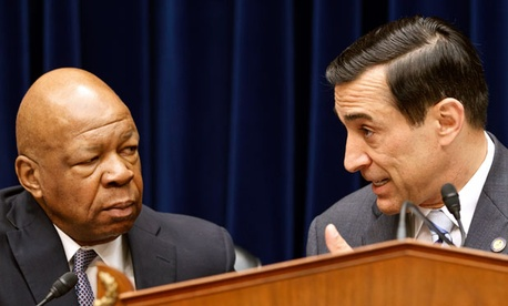 Reps. Elijah Cummings, D-Md., and Darrell Issa, R-Calif.