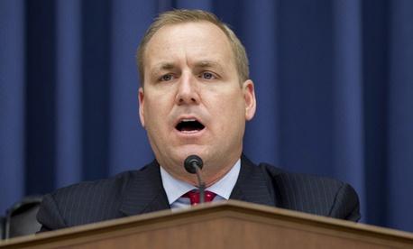"Rep. Jeff Denham, R-Calif., says GSA needs to ""justify their existence"" to Congress."