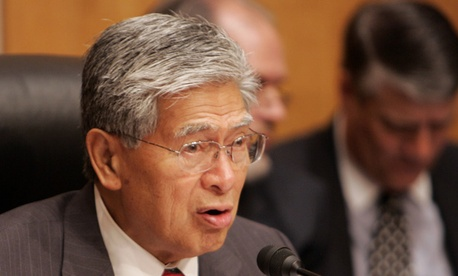 Sen. Daniel Akaka, D-Hawaii, sponsored the plan.