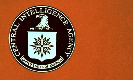 The CIA's seal from the 1970s is on display at the agency's headquarters.