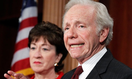Sens. Susan Collins, R-Maine, and Joe Lieberman, I-Conn., co-sponsored the measure