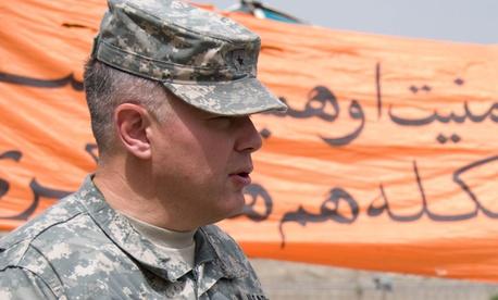 Army Maj. Gen. Gary S. Patton