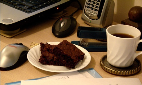 The brownie in question.