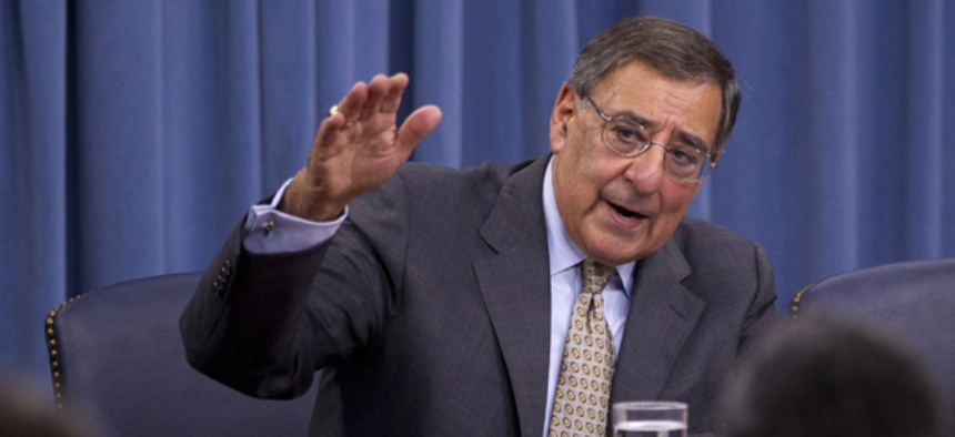 Defense Secretary Leon Panetta has said Congress should not be so quick to cut Defense jobs solely to avoid sequestration.