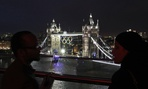 The British Government has adorned the Tower Bridge with the Olympic rings this summer.
