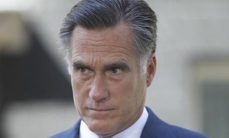 Mitt Romney is in London this week.