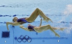 British synchronized swimmers Olivia Federici and Jenna Randall made it to the events' final.