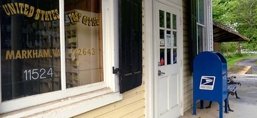 A rural post office in Markham, Va.
