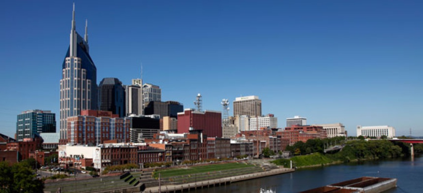 The Cumberland River runs through Nashville.