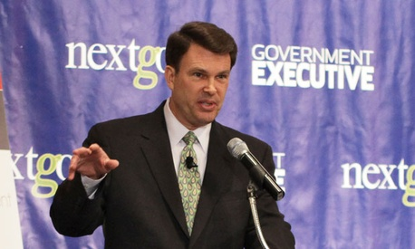 John Berry spoke at a 2011 Government Executive event.