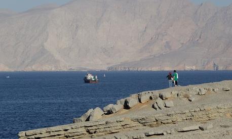 The Strait of Hormuz