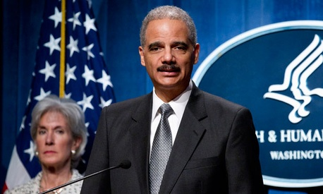 "Attorney General Eric Holder said the ""takedown underscores the fact that federal efforts to combat health care fraud have never been more strategic, more comprehensive or more effective."""