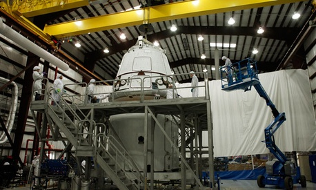 The SpaceX Dragon Capsule