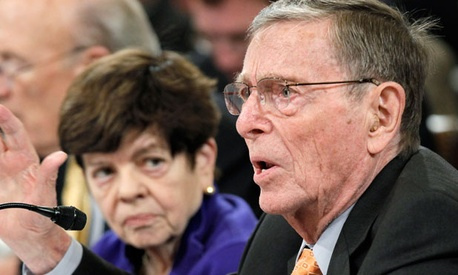Alice Rivlin and former Sen. Pete Domenici, R-N.M., co-chaired a fiscal commission in 2010.