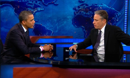 Obama has visited the Daily Show multiple times since 2007.