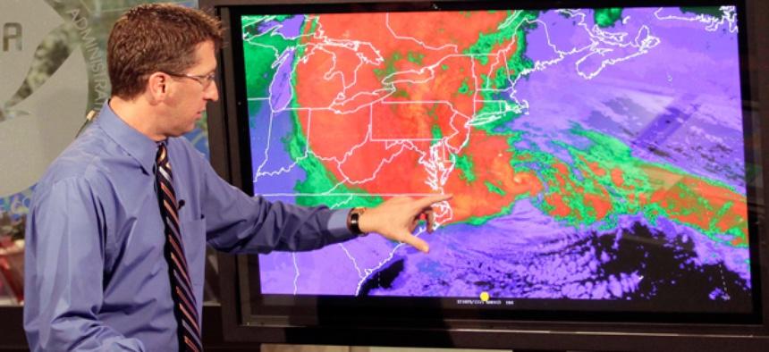 Rick Knabb, director of the National Hurricane Center