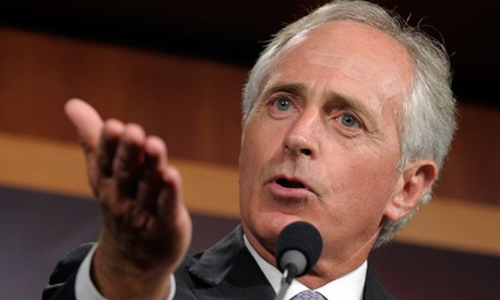 "Sen. Bob Corker, R-Tenn., said Democrats ""finally accept"" that ""Republicans are willing to put revenues on the table."""