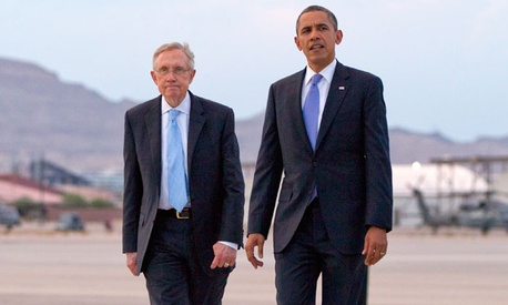 Reid campaigned for Obama in Nevada in August.