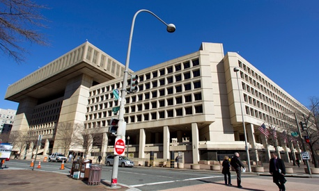 Current FBI headquarters in Washington, DC.