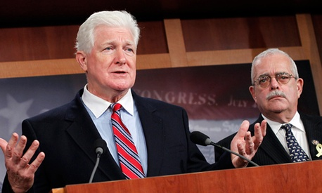 "Rep. Jim Moran, D-Va., was among 9 Washington-area lawmakers to sign a letter saying feds had already ""paid their fair share."""