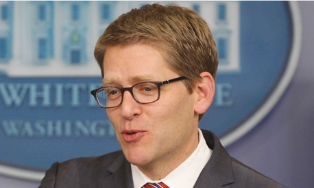"""Math tells us that you can't get the kind of balanced approach that you need without having rates be part of the equation,"" White House press secretary Jay Carney said Monday."