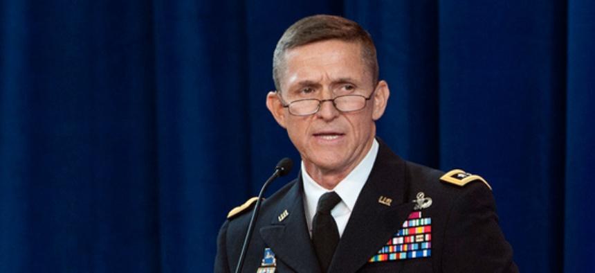 Lt. Gen. Michael Flynn, director of the Defense Intelligence Agency