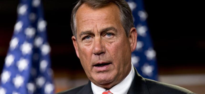 Speaker John Boehner sent President Obama a counterproposal to reduce the deficit.