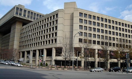 The FBI is currently headquartered at the J. Edgar Hoover Building.
