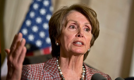 """Tax cuts for the rich, which do not create jobs, just increase the deficit, heaping mountains of debt onto future generations,"" Rep. Nancy Pelosi, D-Calif., said Friday."