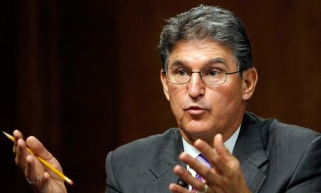 Sen. Joe Manchin, D-W.Va. authored a provision to cap contractor salary reimbursements.