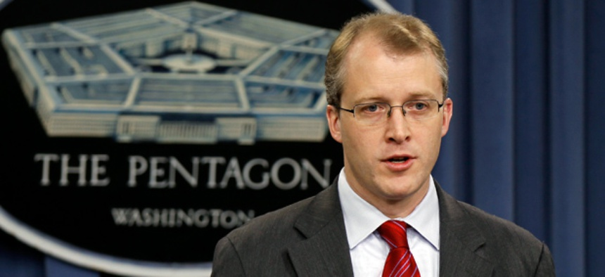 Pentagon Press Secretary George Little