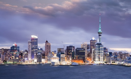 Auckland, New Zealand's largest city. Image via travellight/shutterstock.com