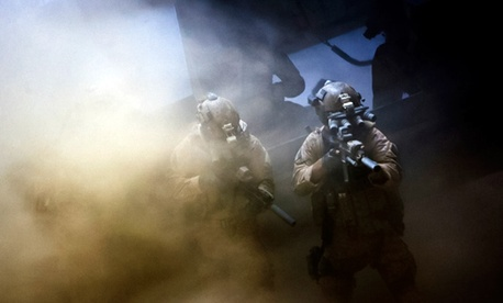 "A scene from ""Zero Dark Thirty"""